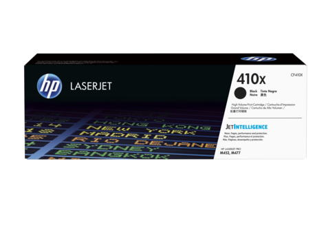 Mực in HP 410X High Yield Black Original LaserJet Toner Cartridge (CF410X)