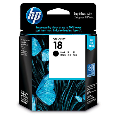 Mực in HP 18 Black Officejet Ink Cartridge (C4936A)