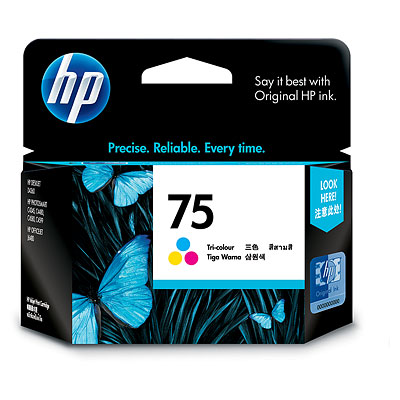 Mực in HP 75 Tri color Inkjet Print Cartridge (CB337WA)