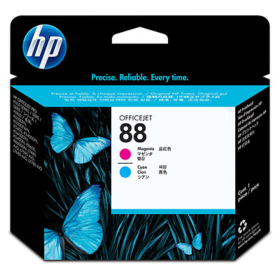 Đầu phun HP 88 Magenta and Cyan Officejet Printhead (C9382A)