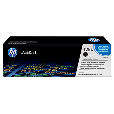 Mực in HP 125A Black LaserJet Toner Cartridge (CB540A)