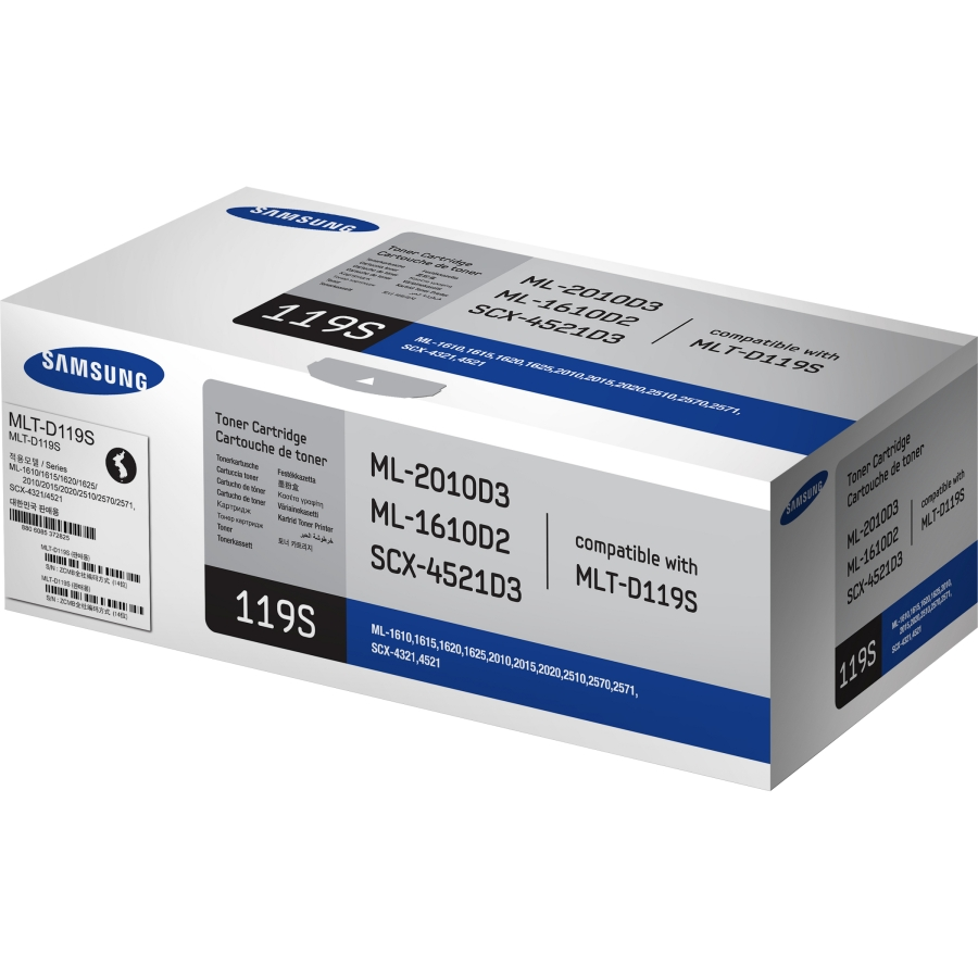 Mực in Samsung MLT D119S Black Toner Cartridge (MLT D119S)