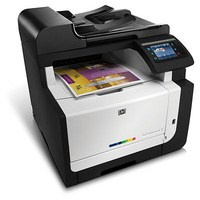 Máy in HP LaserJet Pro CM1415fnw Color Multifunction Printer (CE862A)