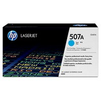 Mực in HP 507A Cyan LaserJet Toner Cartridge (CE401A)