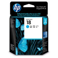 Mực in HP 18 Cyan Officejet Ink Cartridge (C4937A)