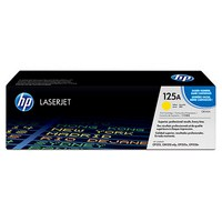 Mực in HP 125A Yellow LaserJet Toner Cartridge (CB542A)