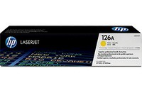 Mực in HP 126A Yellow LaserJet Toner Cartridge (CE312A)
