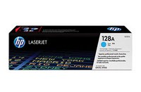Mực in HP 128A Cyan LaserJet Toner Cartridge (CE321A)